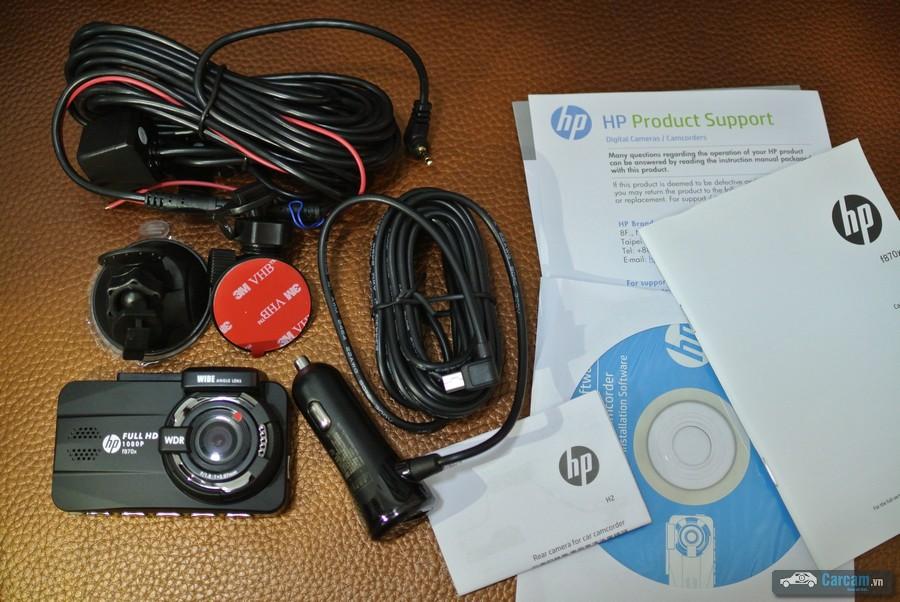 Bộ camera hành trình HP F870X