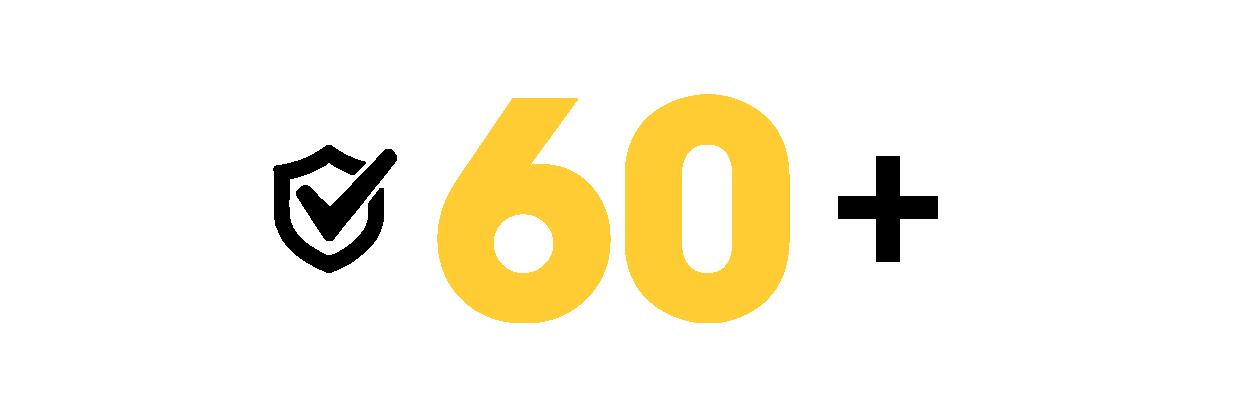 Bảo hành 60 tháng