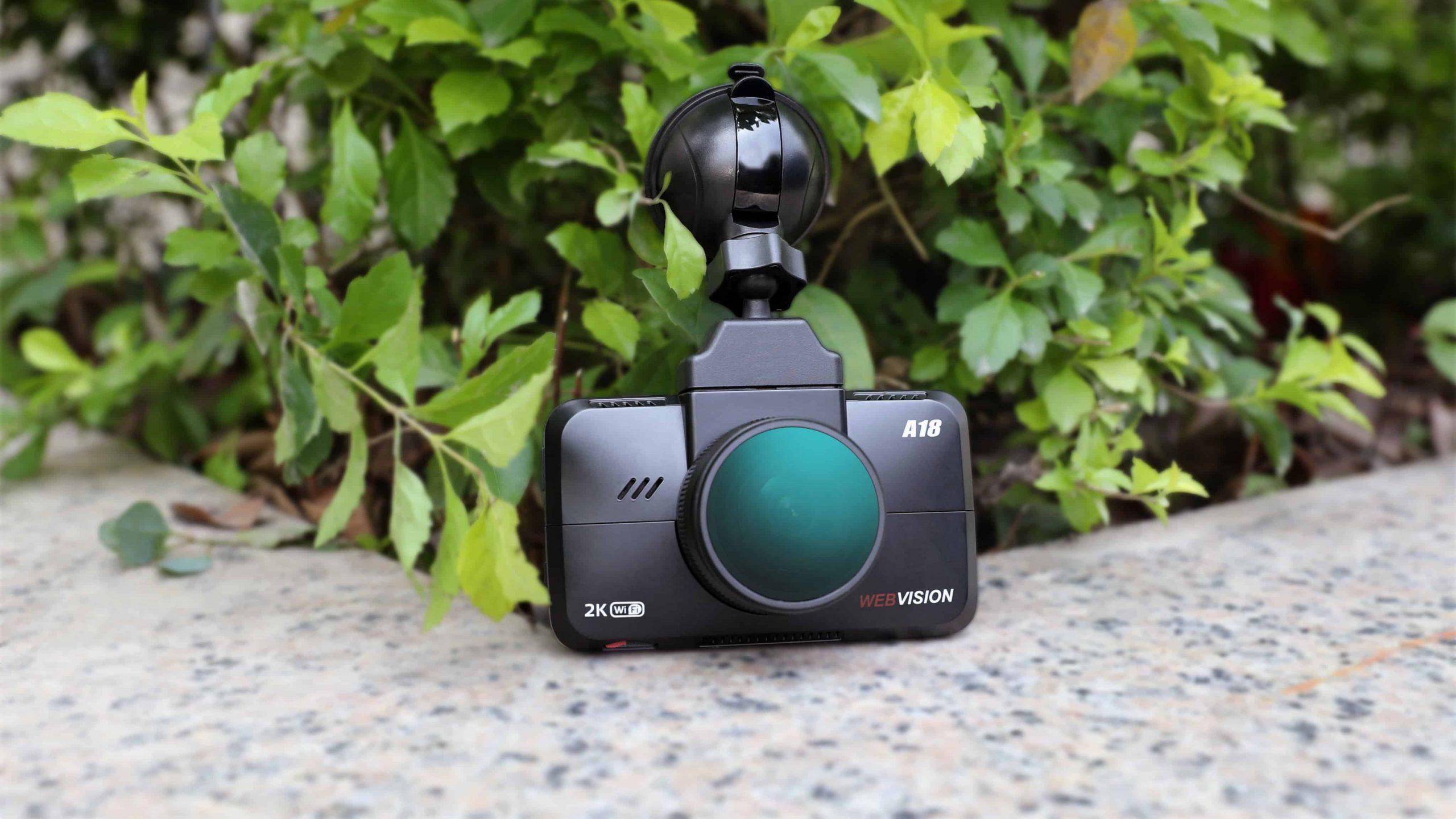 Camera hành trình 2K & Góc quay 170 độ