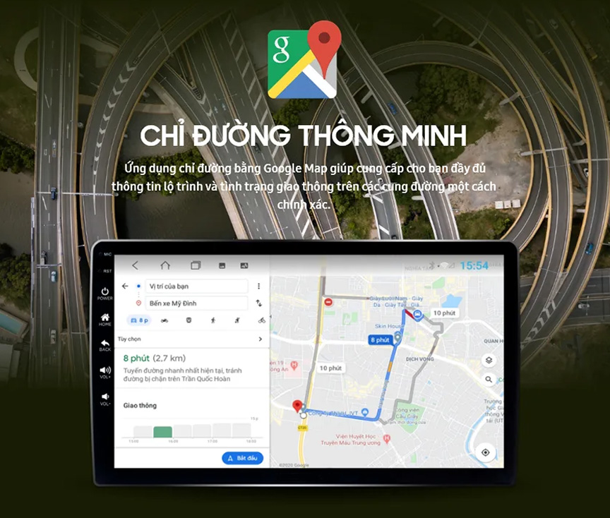 Bản đồ dẫn đường google map
